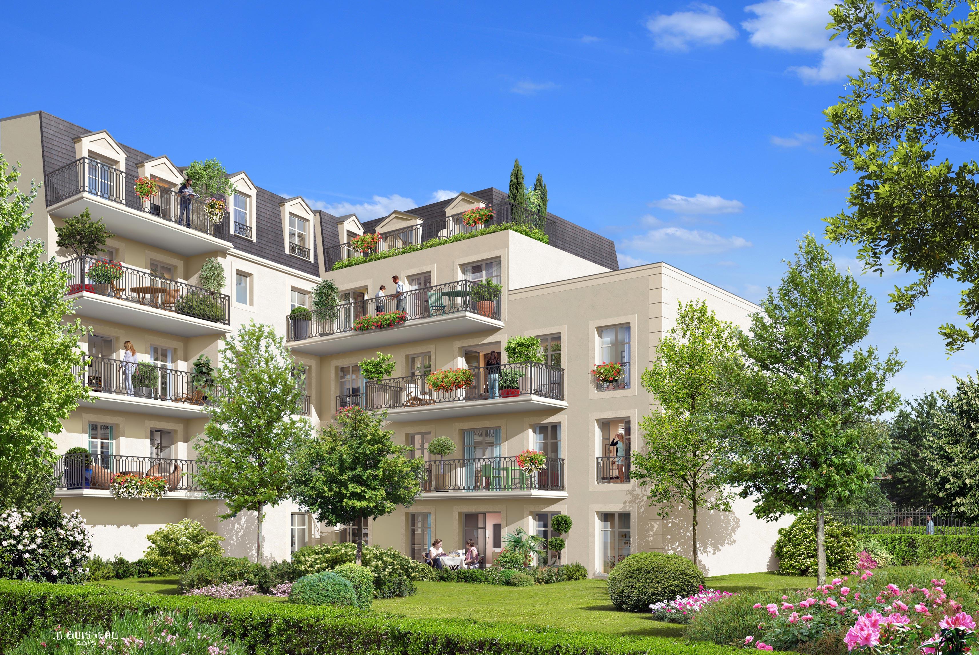 Fontenay Sous Bois Immobilier - Appartements neufà Fontenay sous Bois (94) Villa Emeraude Beryl Investissement Immobilier